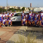 Comportamiento ejemplar del Bici-Club Ejido en la marcha Cicloturista Martinez Oliver